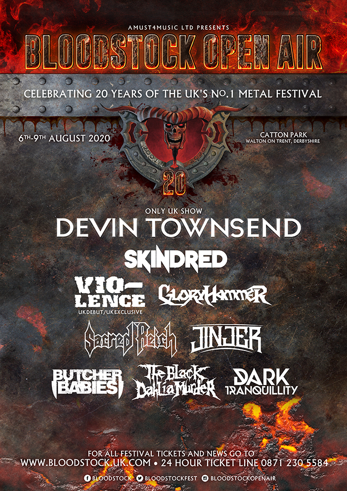 Bloodstock 2020 First Line-up Poster