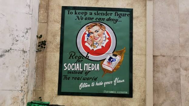 Boomtown Social Media Poster