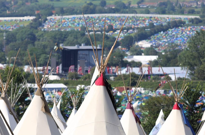 Glastonbury: Pre-pitched tents & campervan pitches sell out in 39 minutes