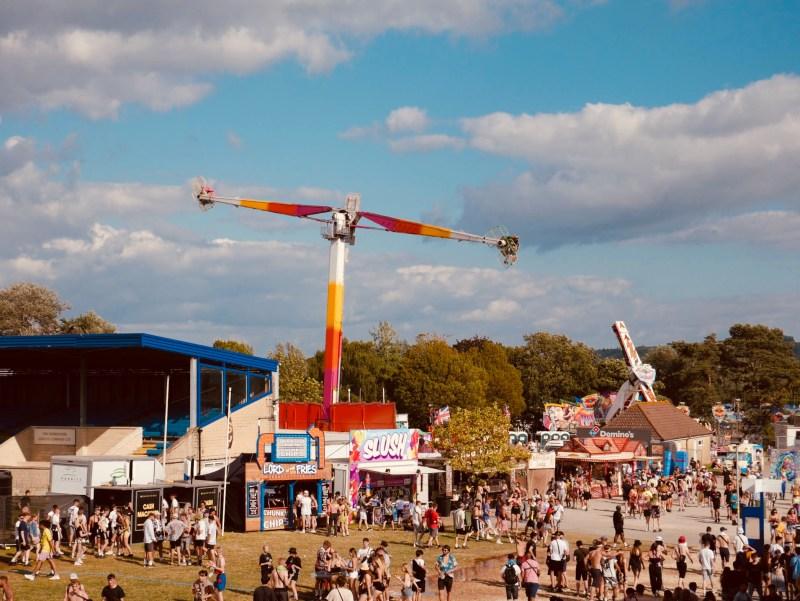 NASS fairground rides showground