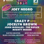 Brixton Disco Festival 2020 line-up poster