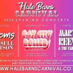 Hale Barns Carnival 2020 line-up poster