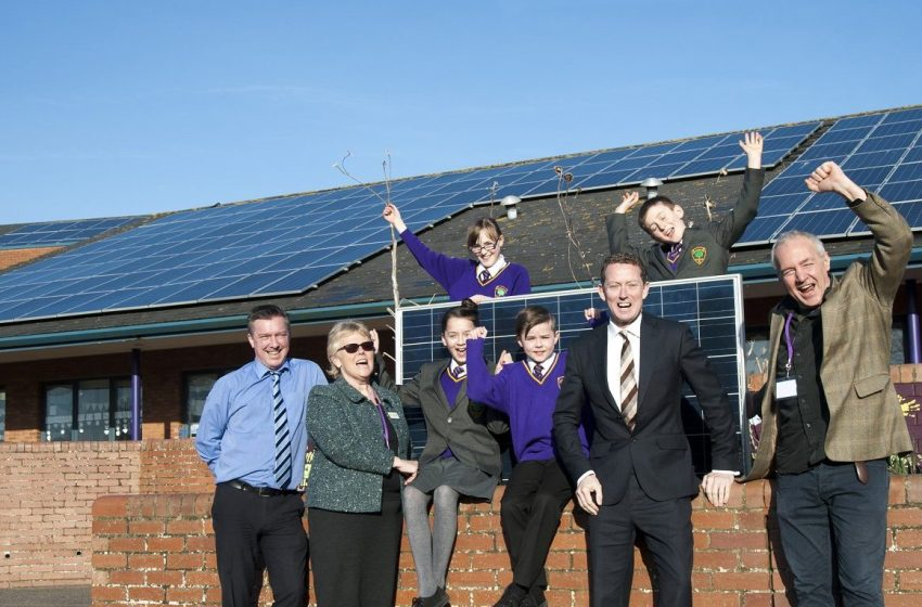 Energy Revolution smash carbon balancing targets with school solar power scheme