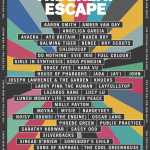 The Great Escape festival 2020 line-up poster