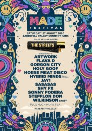 MADE Festival 2020 first line-up poster
