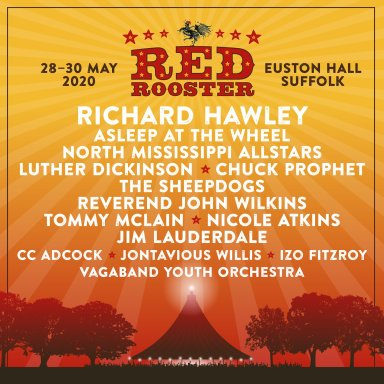 Red Rooster Festival 2020 line-up poster