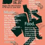 Bigfoot Festival 2020 line-up poster