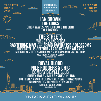 Victorious Festival 2020 line-up poster