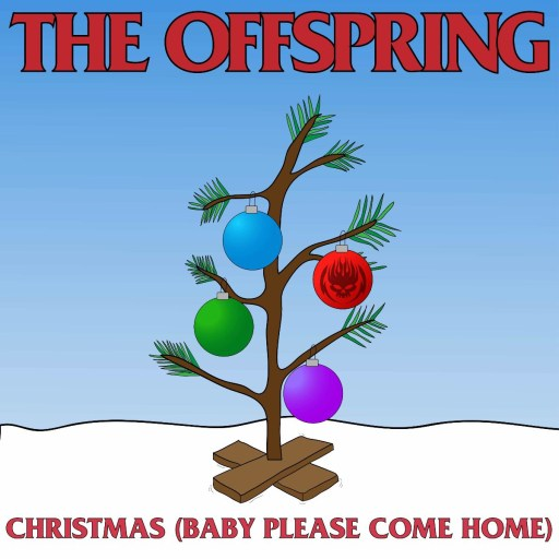 The Offspring Christmas Baby Please Come Home cover art