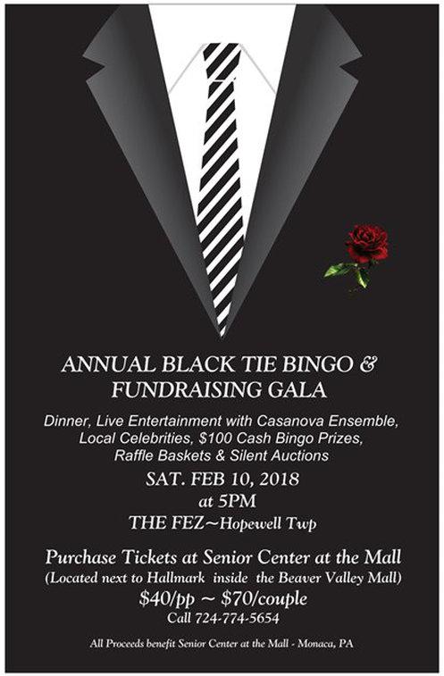 Wonderful Center at the Mall Annual Black Tie Bingo - The Fez GT71