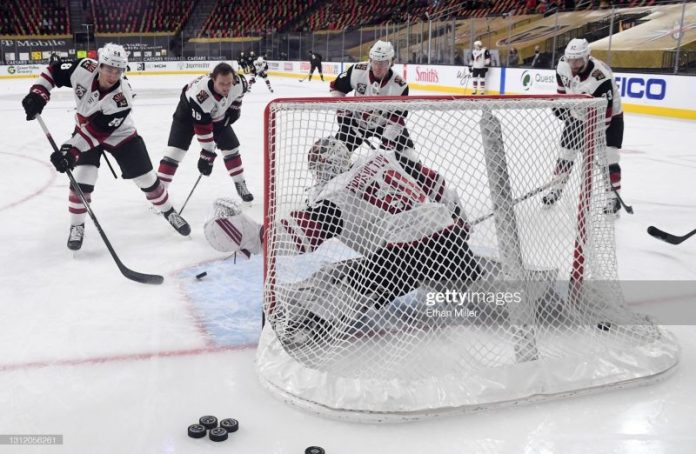 Coyotes Oddly Quiet at Deadline