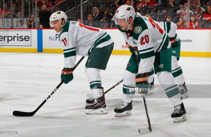 Wild Cut Ties with Suter & Parise