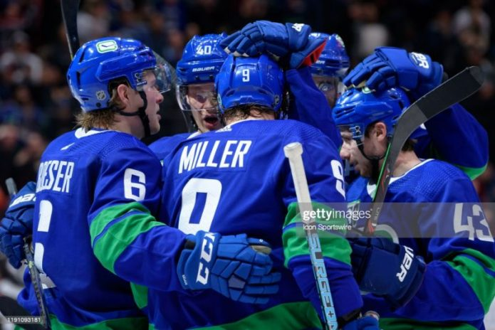 Vancouver Canucks NHL 22 Players' Ratings Predictions