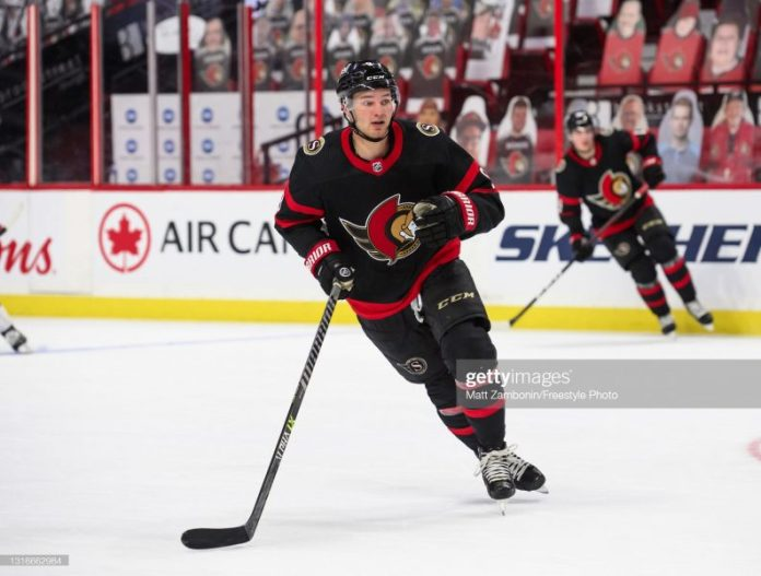 Josh Norris is a No.1 Centre in the NHL