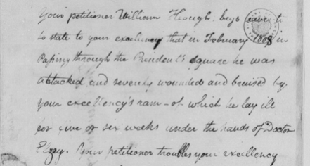 To Thomas Jefferson from William Keough, 15 February 1809 (Library of Congress)