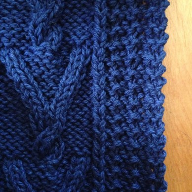Bellows Cardigan Brooklyn Tweed Close Up Cable Knit
