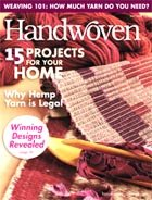 Handwoven May June 2008