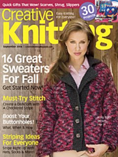 Creative Knitting September 2006