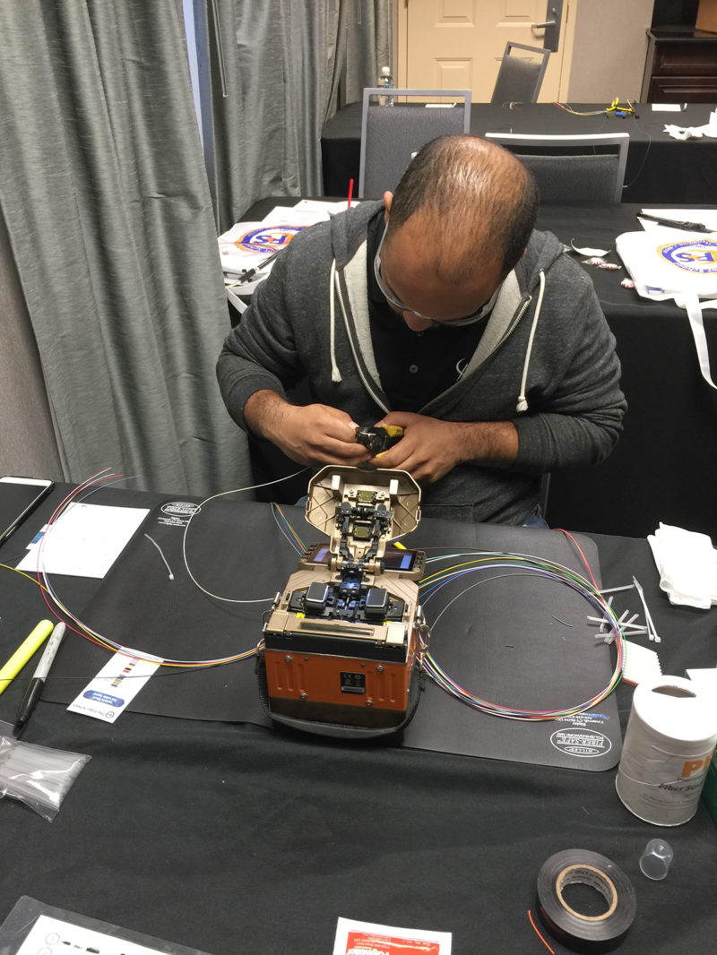 The Fiber School - Fiber Optic Training - Fusion Splicer Training