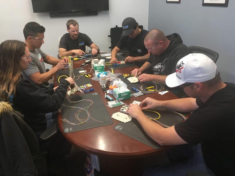 Fiber Optic Training - Splice Labs