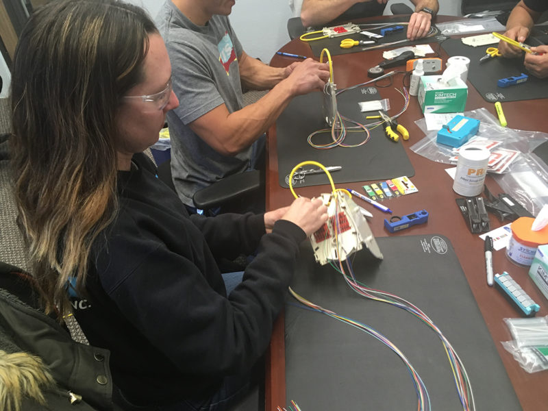 Fiber Optic Training - Splice Labs