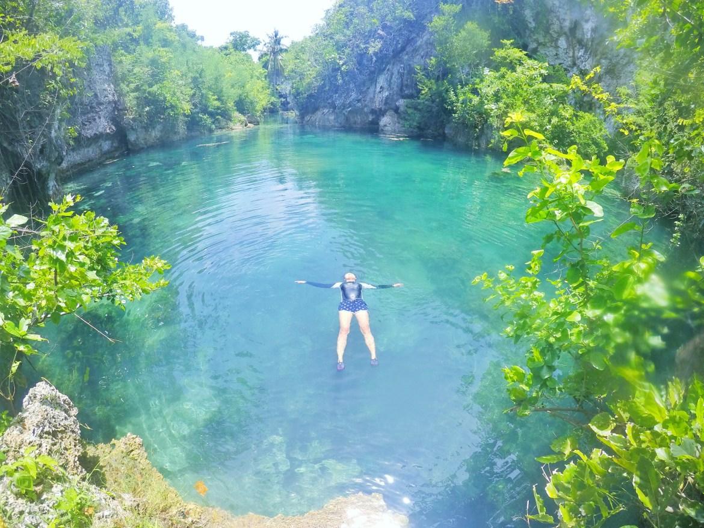 Laaw Lagoon, Guintarcan Island, Cebu, Philippines