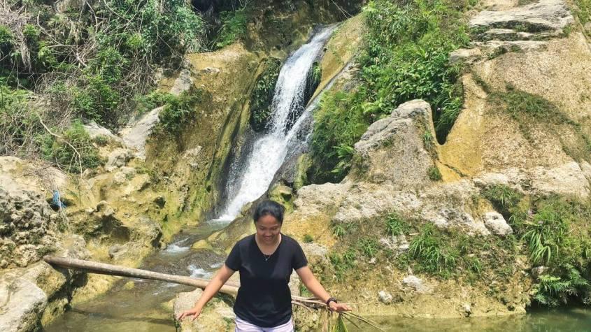 Bugho Falls in San Fernando, Cebu