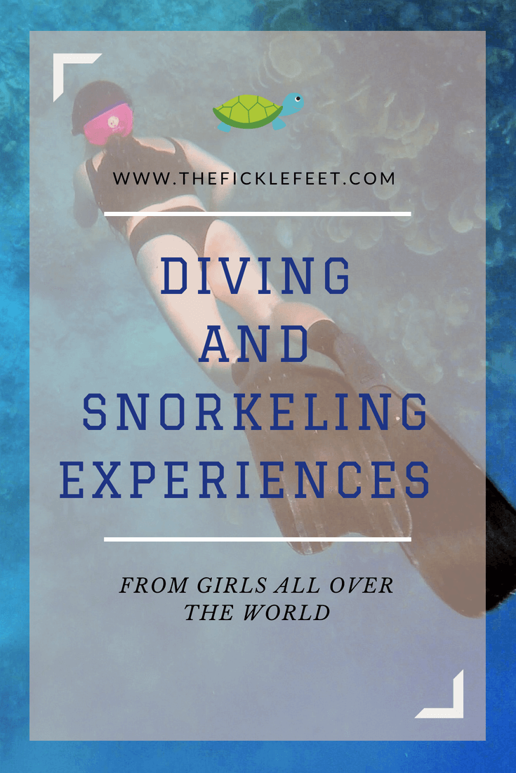 Diving and Snorkeling Experiences from Girls all over the world