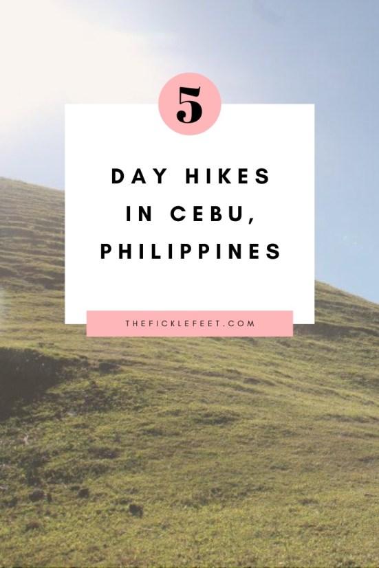 5 best day hikes in cebu Philippines
