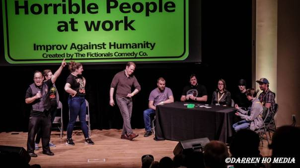 Improv Against Humanity at Capital City Comic Con