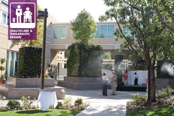 Mercy Southwest Hospital courtyard