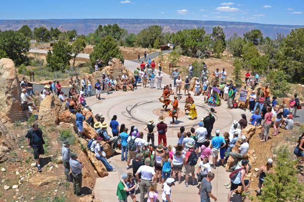 Native American dance ceremony