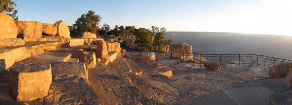 Amphitheater at sunrise