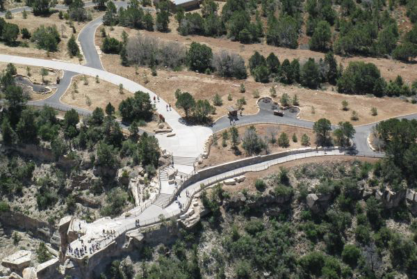 Aerial view of Mather Point