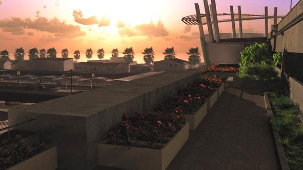 Oceanside Transit Center, generated with 3DS Max Design with Vue Pluginimage: Matt Wilkens