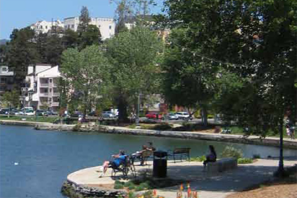 Lake Merritt pathsimage: Soil Stabilization Products Company, Inc.