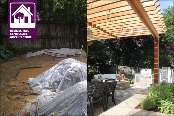 A six-week backyard transformation. image: Lindsey Tabor
