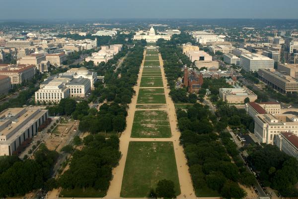 The National Mall image: Alexandra Hay