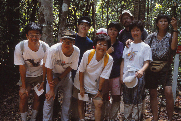 """Hiking in primary forest (""""jungle"""") with the Malaysian Nature Society  image: Erik Mustonen"""