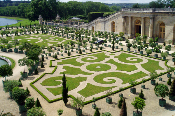 Versailles' Orangerie image: Kaitlyn E. Hay
