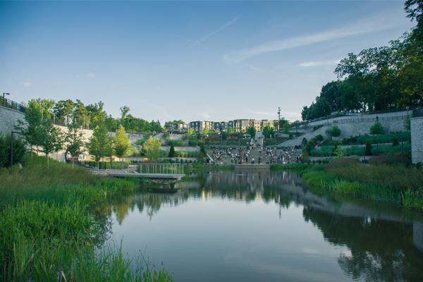 Historic Fourth Ward Park image: John McNicholas via Flickr