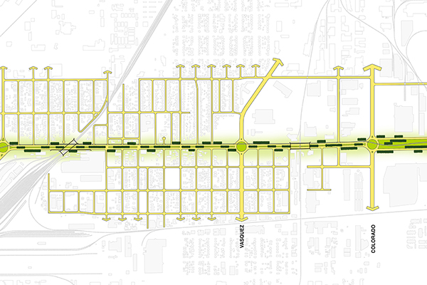 A boulevard would increase neighborhood and regional connectivity and access. image: Keith Billick