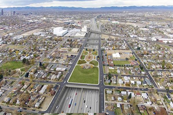 The preferred alternative solution  Image: Colorado Department of Transportation