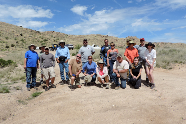 Members of four issue working groups on site visit to the Pass together image: Rachel Glass