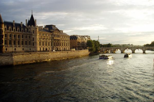 On the Seine in Paris image: Kaitlyn Hay