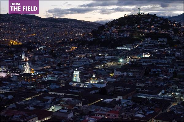 Quito, Ecuador, where Habitat III will take place in October 2016 image: ashokboghani via Flickr