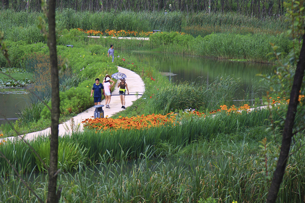 Slow Down: Liupanshui Minghu Wetland Park, 2014 Honor Award Winner, General Design Category image: Kongjian Yu
