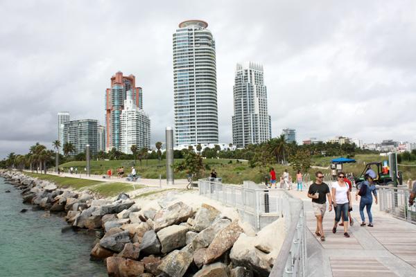 Figure.8 South Pointe Park Miami, FL image: Taner R. Ozdil, 2014