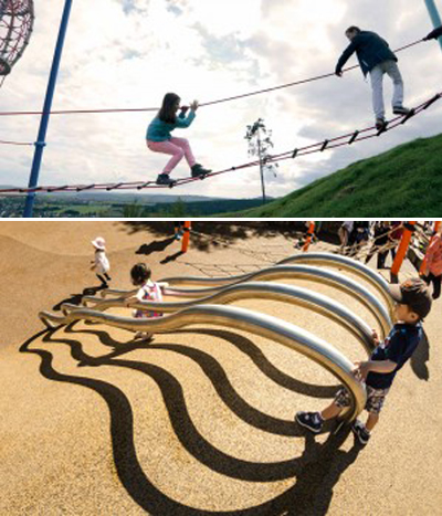 Lafayette Park, San Francisco image: Miracle Play Systems / Miller Company Landscape Architects