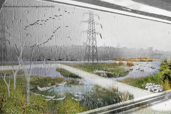 PHYTO-Industry: Reinvigorating the North Vancouver Waterfront through a phased remediation process, 2016 Student ASLA Honor Award, Analysis and Planning Category image: Shan Yang, Student ASLA
